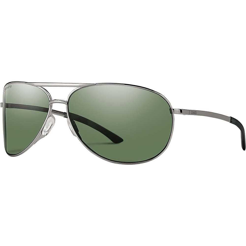 スミス ユニセックス スポーツサングラス【Serpico 2 Polarized Sunglasses】Gunmetal/Polarized Gray Green
