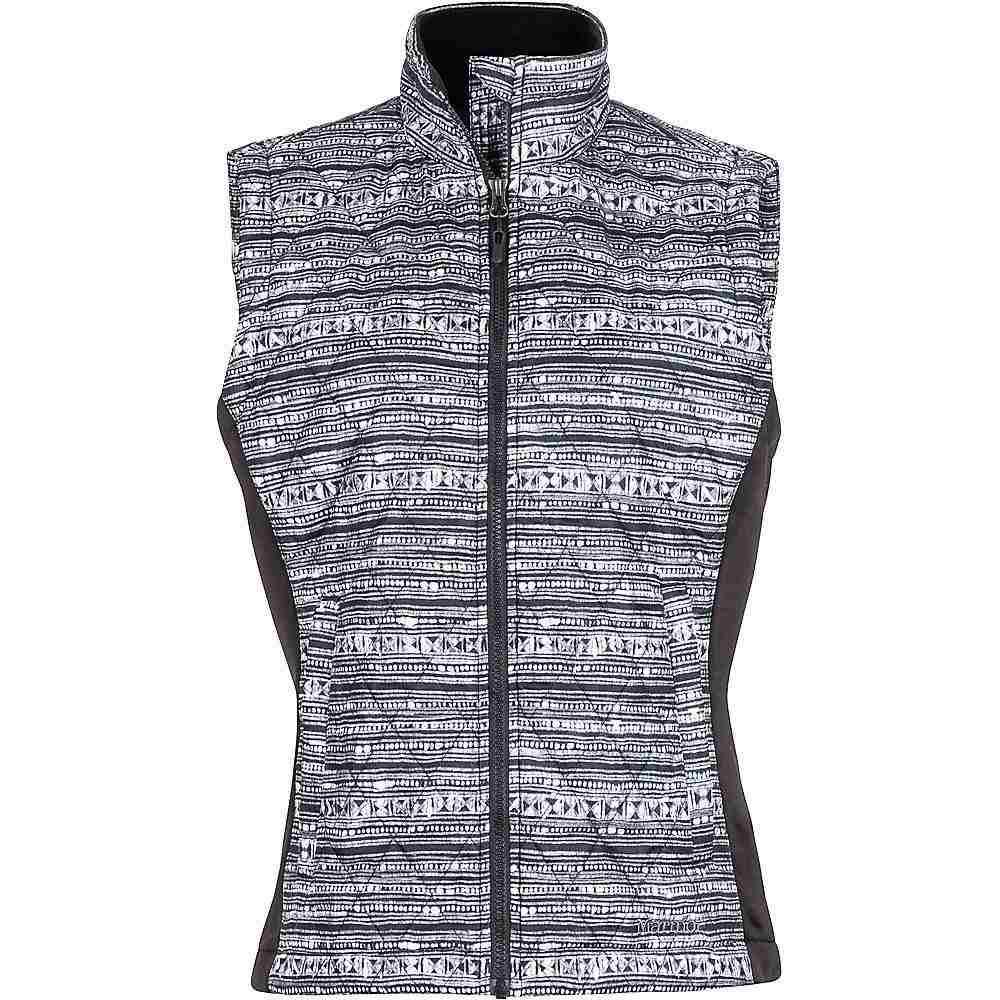 マーモット レディース トップス ベスト・ジレ【Kitzbuhel Vest】Black Ink / Black