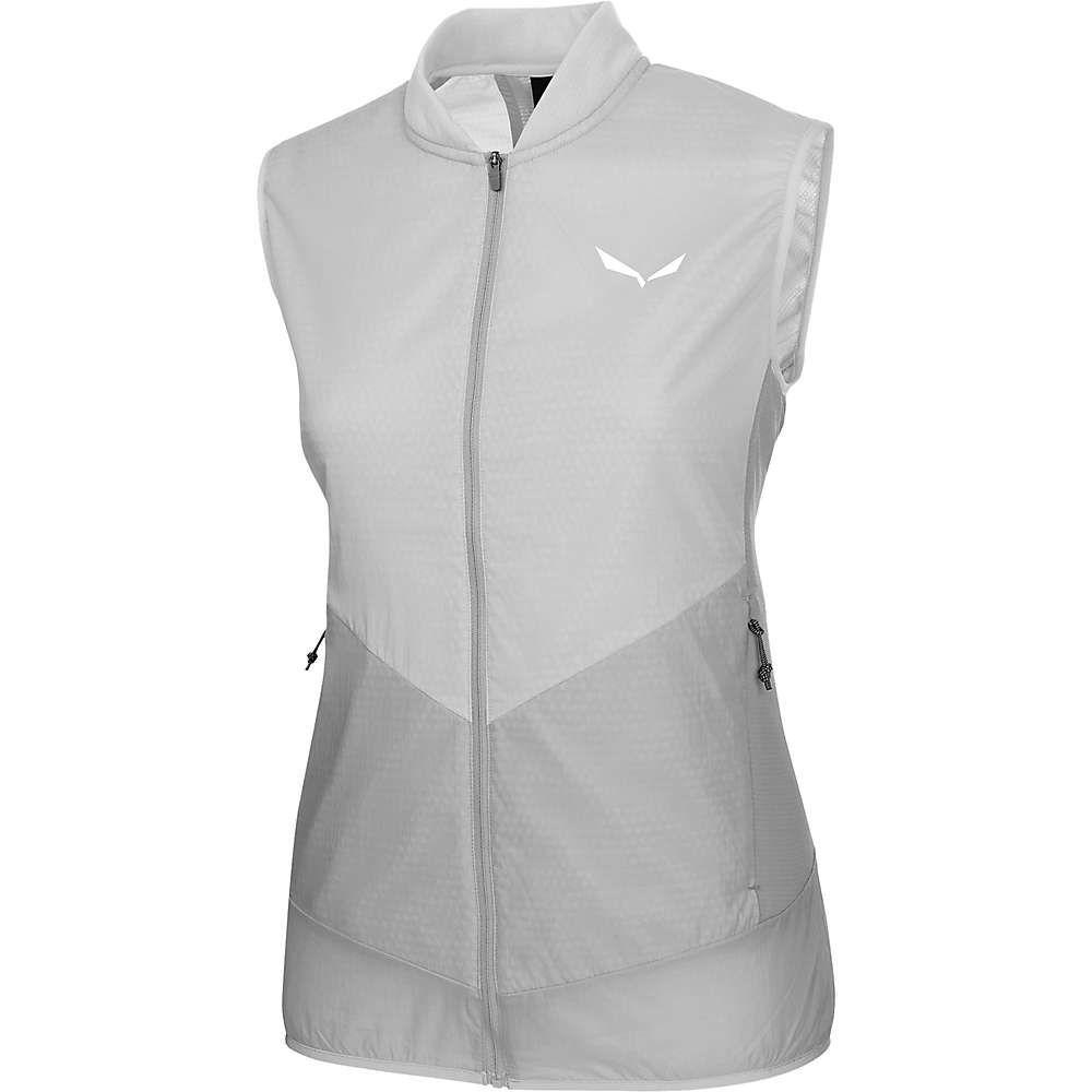 サレワ レディース トップス ベスト・ジレ【Pedroc Hybrid PTC Alpha Vest】Grey