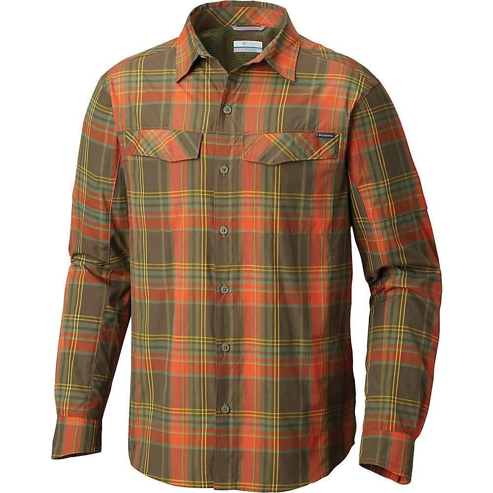 コロンビア メンズ トップス【Silver Ridge Plaid LS Shirt】Backcountry Orange Plaid