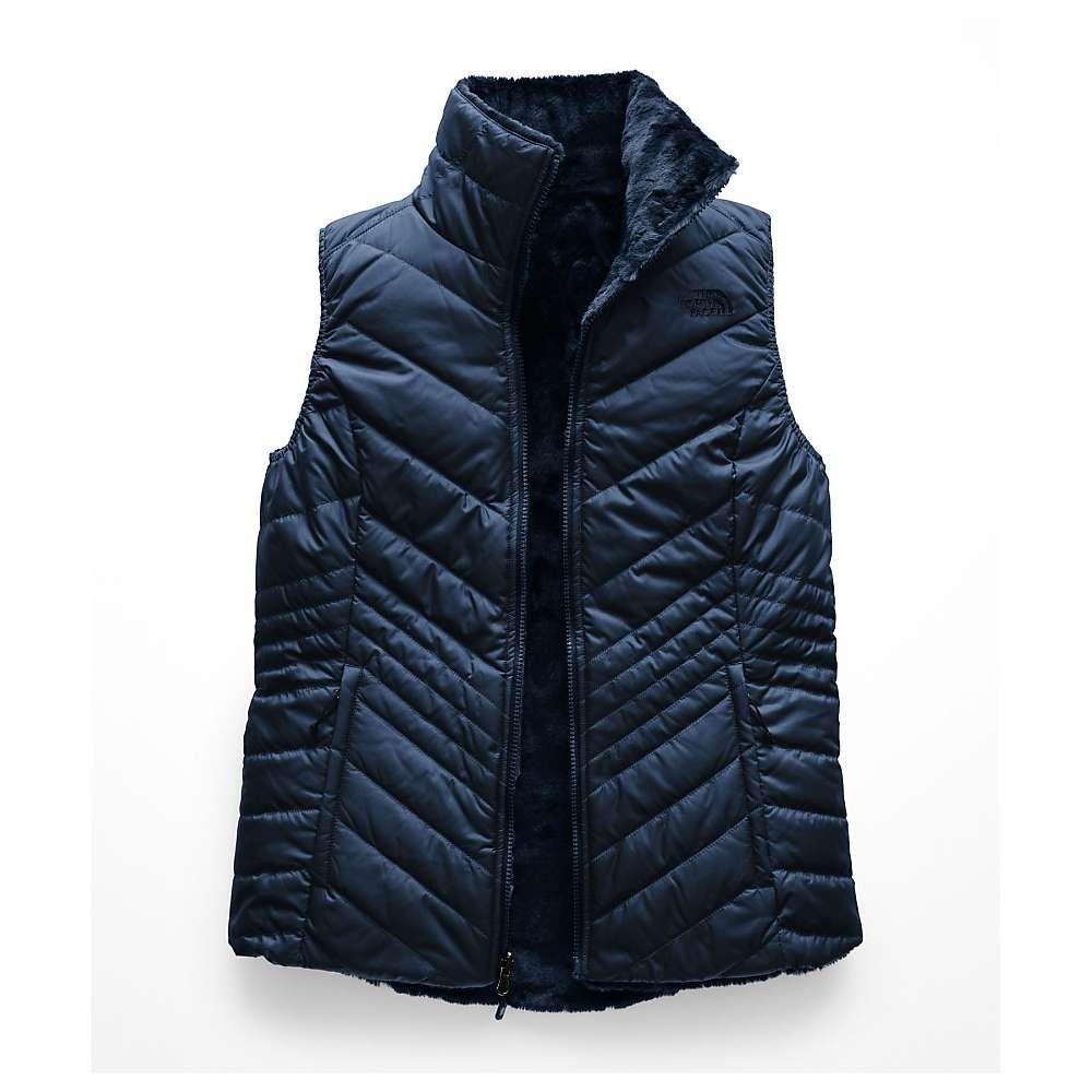 ザ ノースフェイス レディース トップス ベスト・ジレ【Mossbud Insulated Reversible Vest】Blue Wing Teal