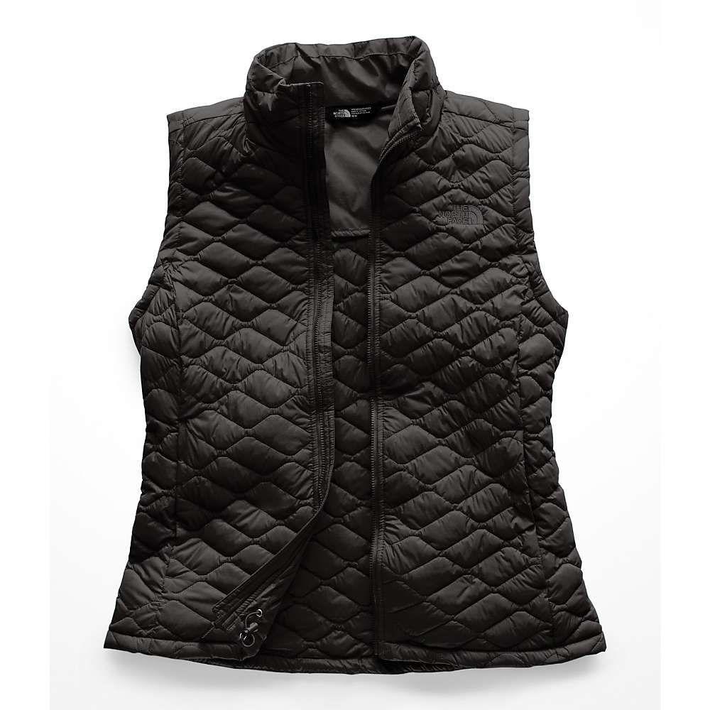 ザ ノースフェイス レディース トップス ベスト・ジレ【ThermoBall Vest】TNF Black Matte