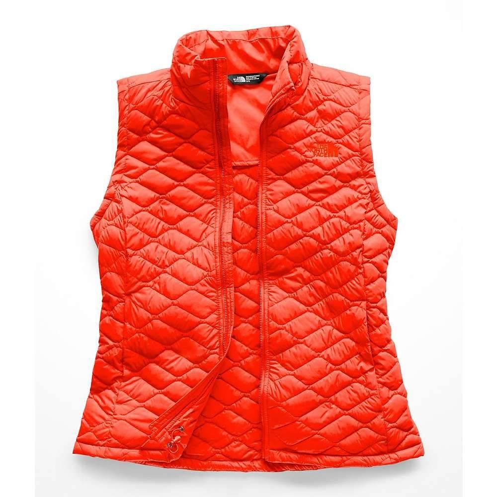 ザ ノースフェイス レディース トップス ベスト・ジレ【ThermoBall Vest】Valencia Orange