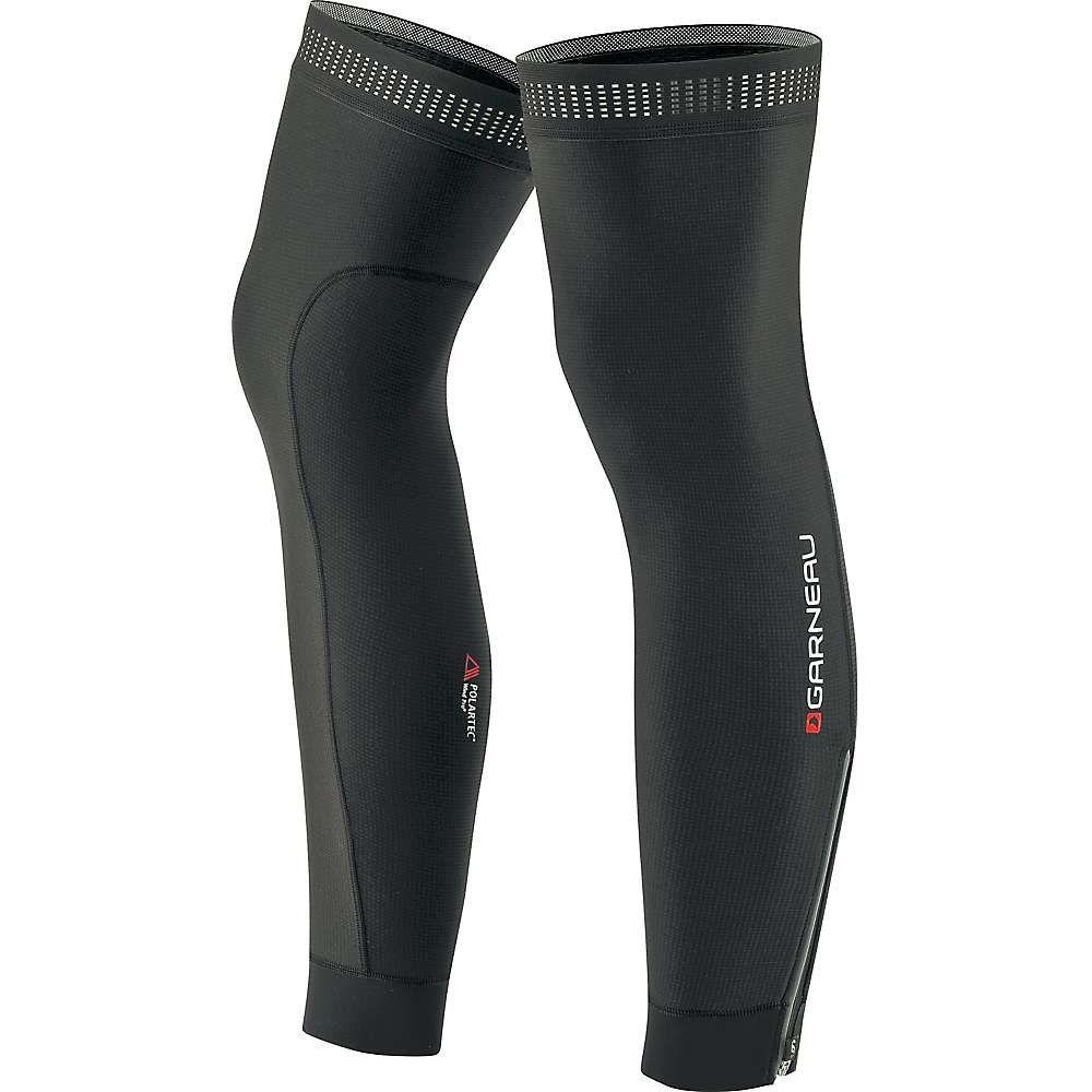 ルイガノ ユニセックス 自転車 サポーター【Wind Pro Zip Leg Warmer】Black