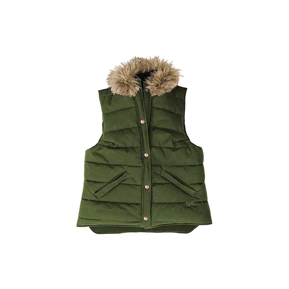 ストーミー クローマー レディース トップス ベスト・ジレ【Highland Vest】Olive