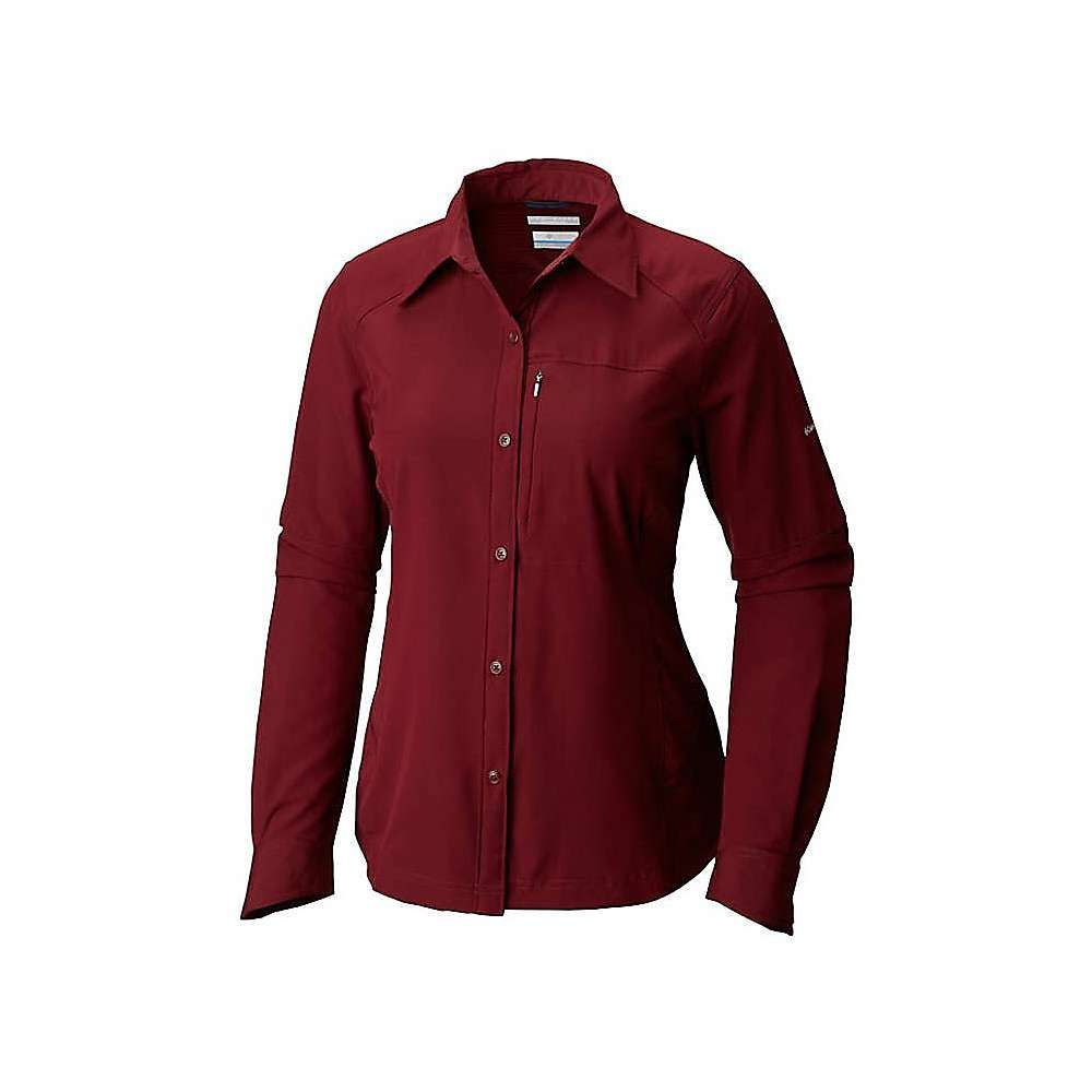 コロンビア レディース ハイキング・登山 トップス【Silver Ridge Long Sleeve Shirt】Rich Wine