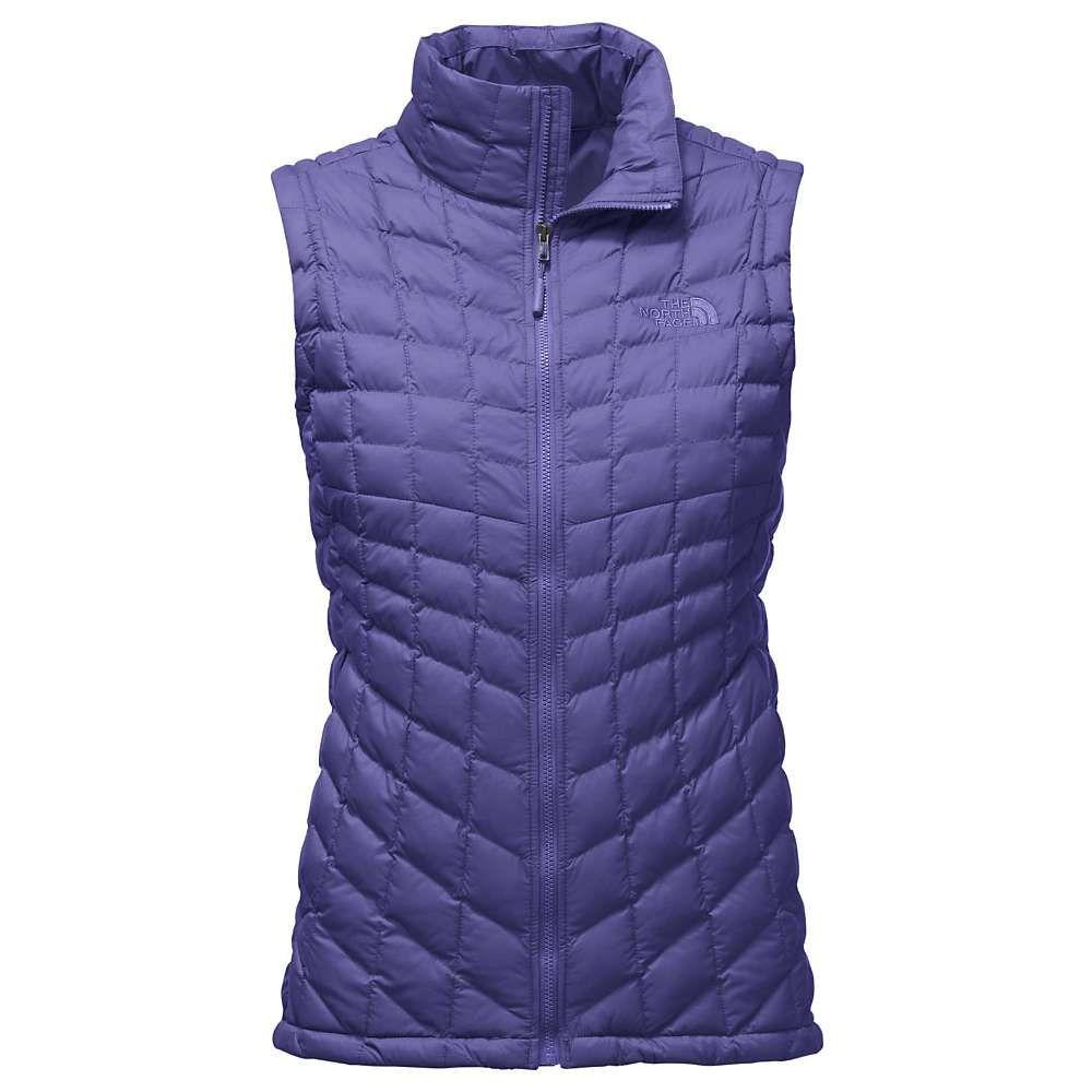 ザ ノースフェイス レディース トップス ベスト・ジレ【ThermoBall Vest】Bright Navy Matte