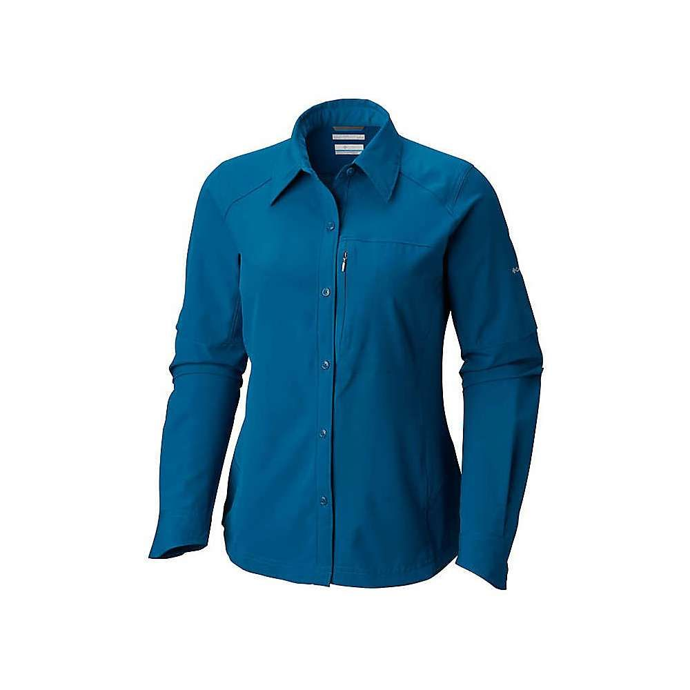 コロンビア レディース ハイキング・登山 トップス【Silver Ridge Long Sleeve Shirt】Lagoon