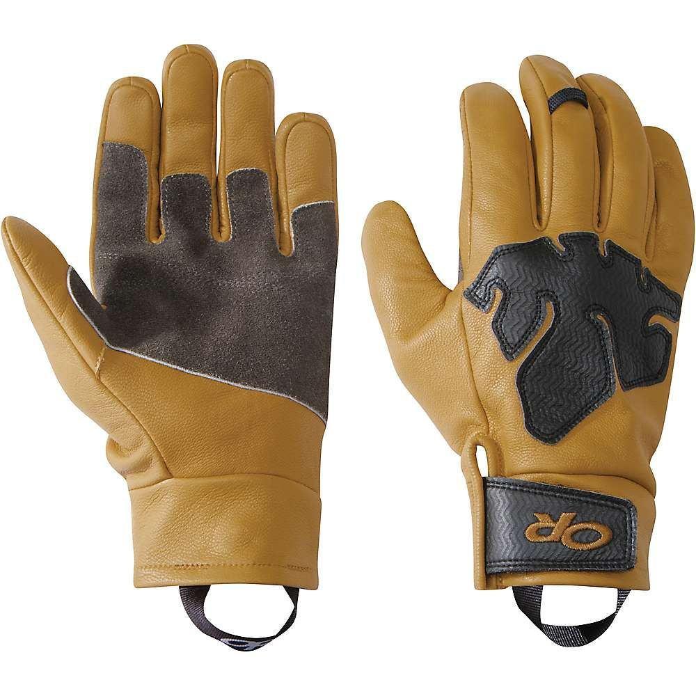 アウトドアリサーチ メンズ クライミング グローブ【Splitter Work Gloves】Natural/Black