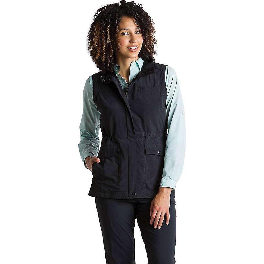 エクスオフィシオ レディース トップス ベスト・ジレ【Sol Cool FlyQ Vest】Black