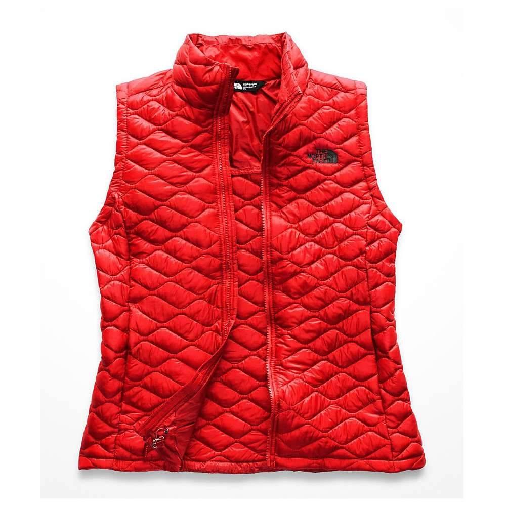 ザ ノースフェイス レディース トップス ベスト・ジレ【ThermoBall Vest】Juicy Red