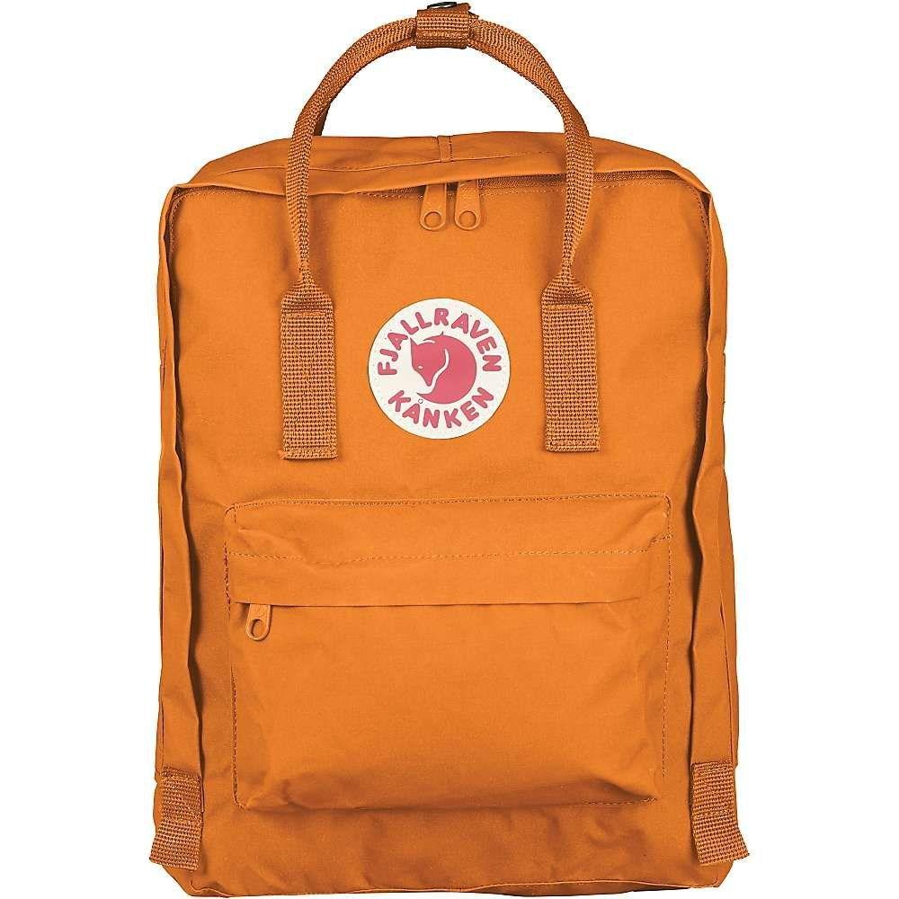 フェールラーベン Fjallraven メンズ バッグ バックパック・リュック【Kanken Backpack】Burnt Orange