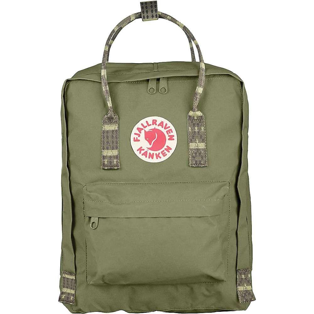 フェールラーベン Fjallraven メンズ バッグ バックパック・リュック【Kanken Backpack】Green-Folk Pattern