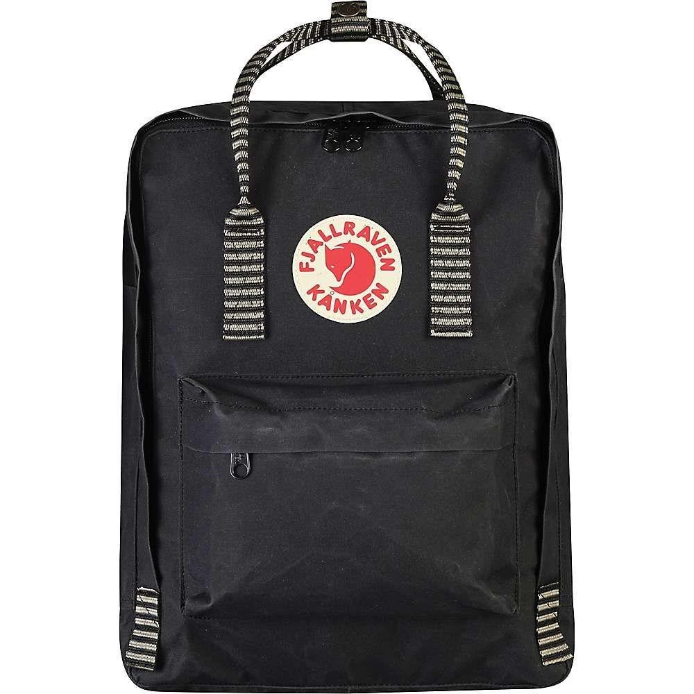 フェールラーベン Fjallraven メンズ バッグ バックパック・リュック【Kanken Backpack】Black-Striped