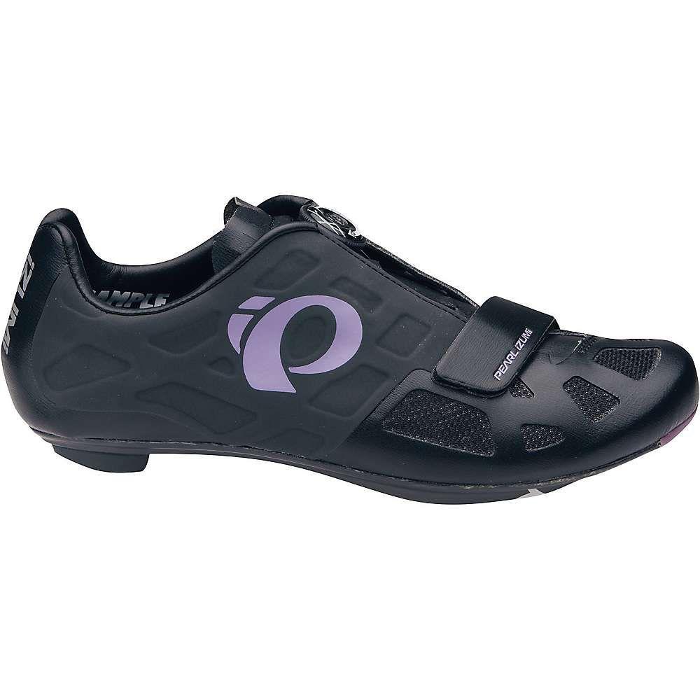 パールイズミ Pearl Izumi レディース 自転車 シューズ・靴【Elite RD IV Shoe】Black / Purple Haze