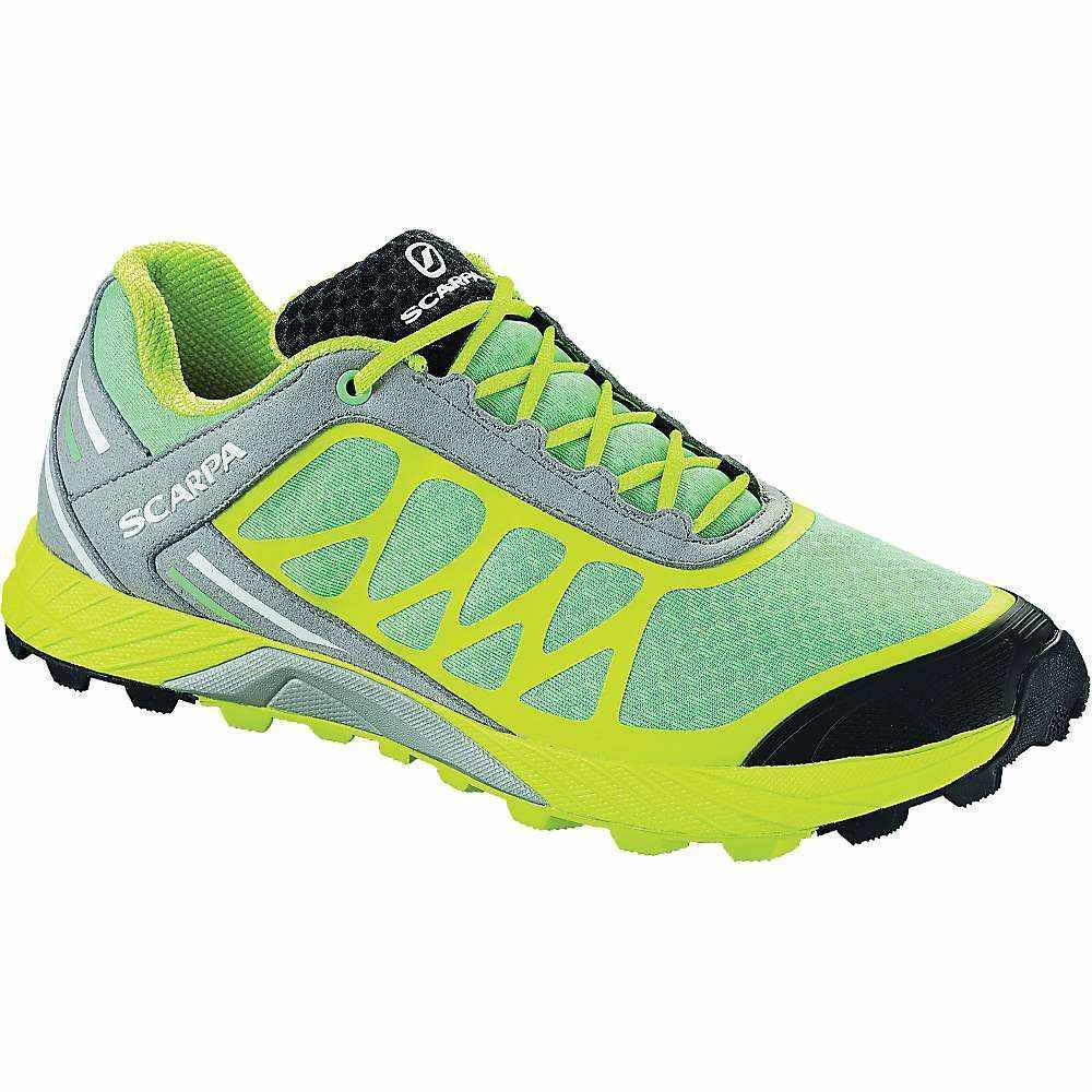 スカルパ Scarpa レディース ランニング・ウォーキング シューズ・靴【Atom Shoe】Lagoon / Lime