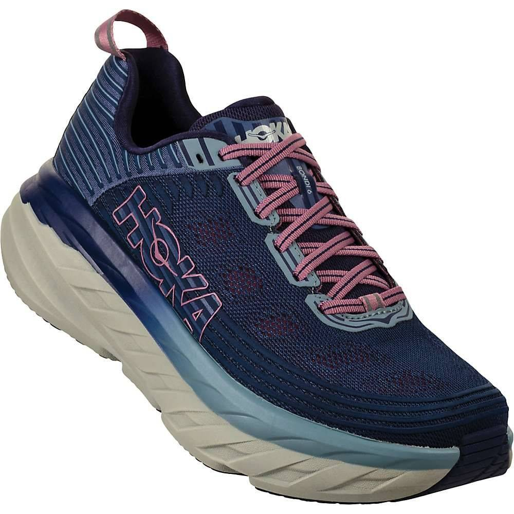 ホカ オネオネ Hoka One One レディース ランニング・ウォーキング シューズ・靴【Bondi 6 Shoe】Marlin / Blue Ribbon