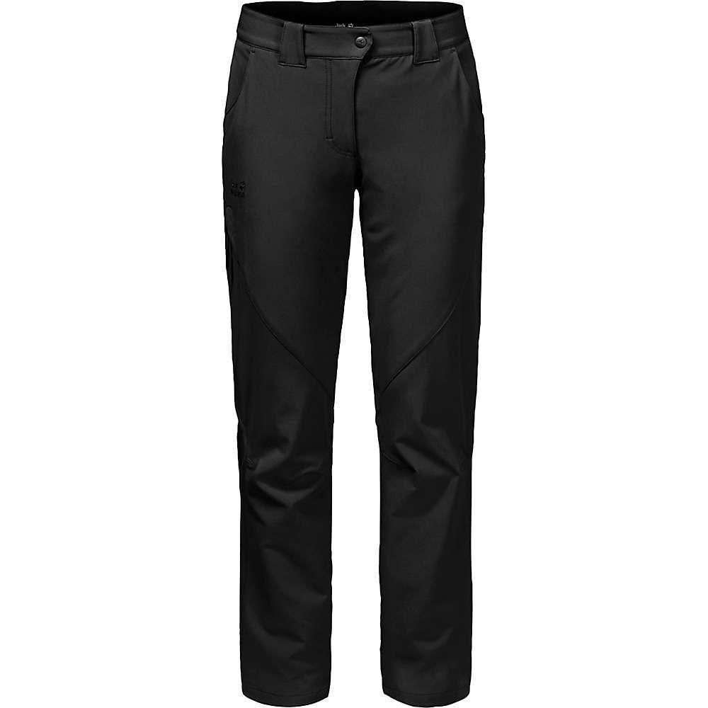 ジャックウルフスキン Jack Wolfskin レディース ハイキング・登山 ボトムス・パンツ【Chilly Track XT Pants】Black
