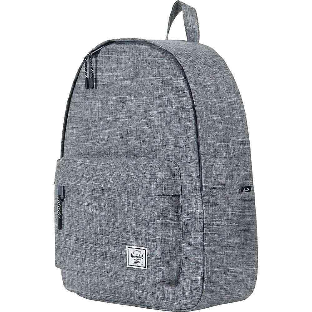 ハーシェル サプライ Herschel Supply Co ユニセックス バッグ バックパック・リュック【Classic Backpack】Raven Crosshatch