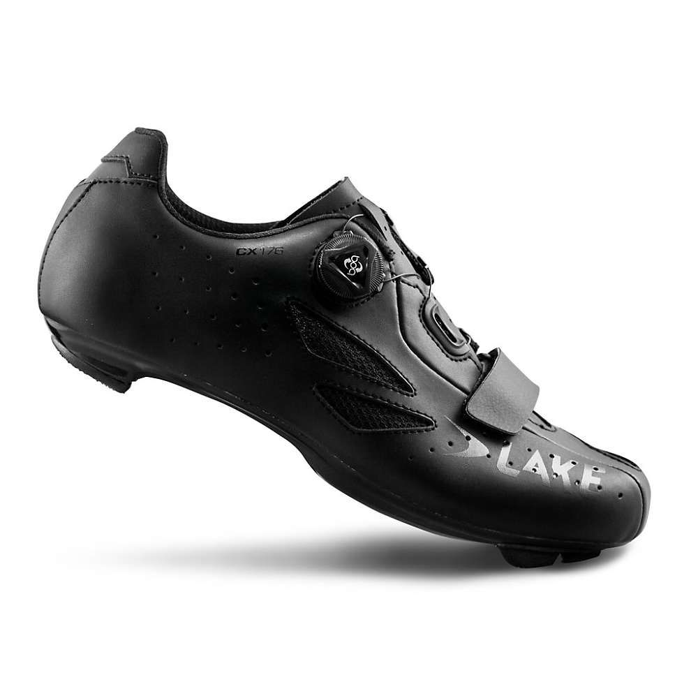レイク Lake メンズ 自転車 シューズ・靴【CX 176 Cycling Shoe】Black