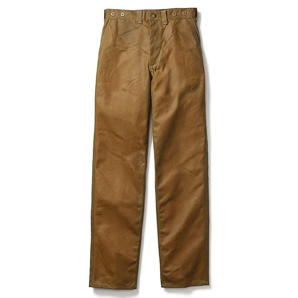 フィルソン Filson メンズ ハイキング・登山 ボトムス・パンツ【Oil Finish Single Tin Pant】Dark Tan