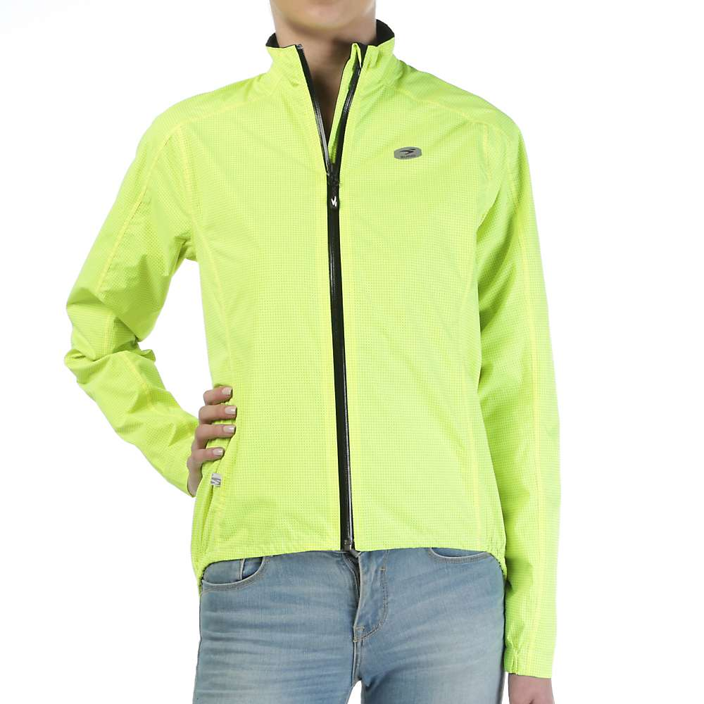 スゴイ レディース サイクリング ウェア【Sugoi Zap Bike Jacket】Super Nova Yellow