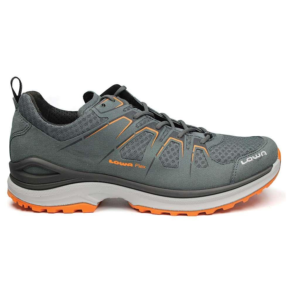 ローバー Lowa Boots メンズ ハイキング・登山 シューズ・靴【Lowa Innox Evo Lo Shoe】Gray/Orange