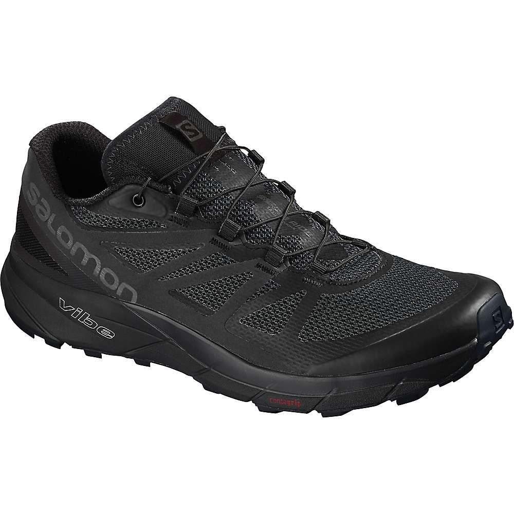 サロモン Salomon メンズ ランニング・ウォーキング シューズ・靴【Sense Ride Shoe】Black / Black / Magnet