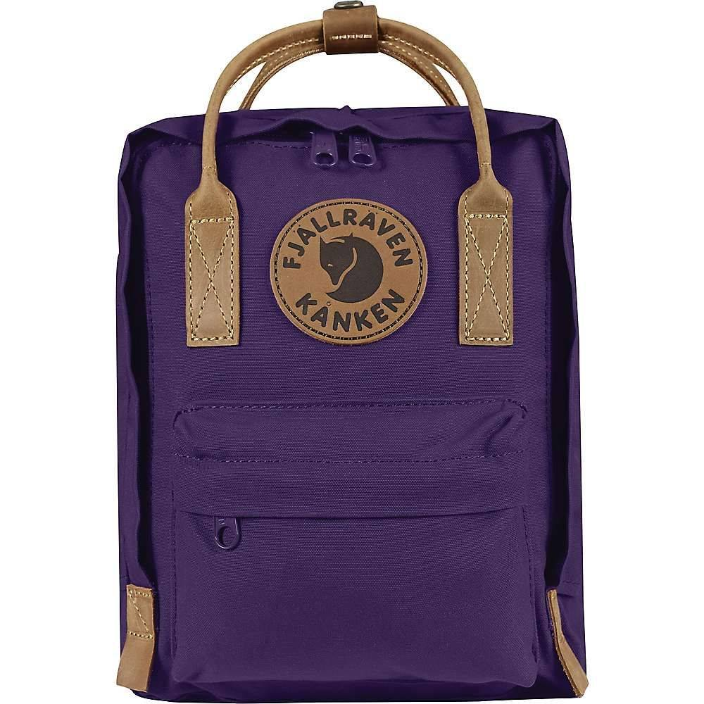 フェールラーベン Fjallraven ユニセックス バッグ バックパック・リュック【Kanken No.2 Mini Backpack】Alpine Purple