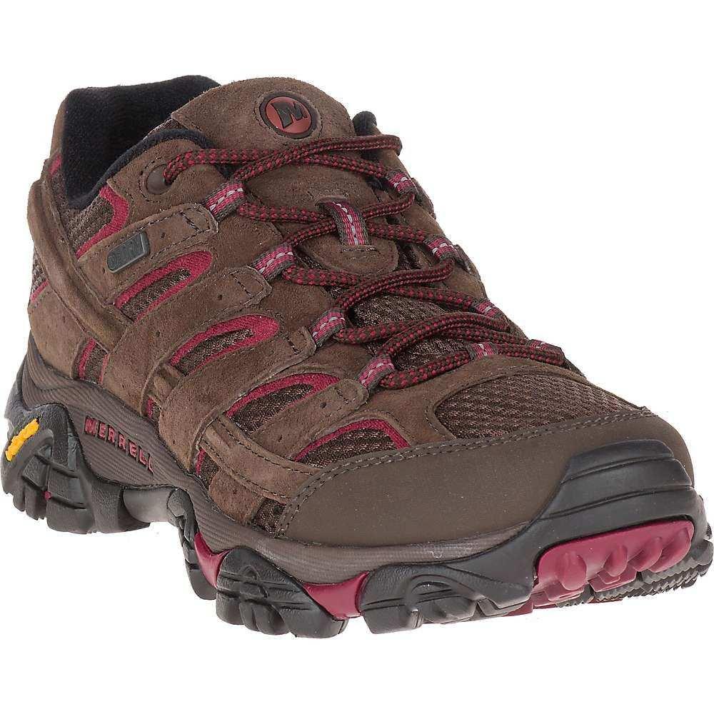 メレル Merrell レディース ハイキング・登山 シューズ・靴【MOAB 2 Waterproof Shoe】Espresso