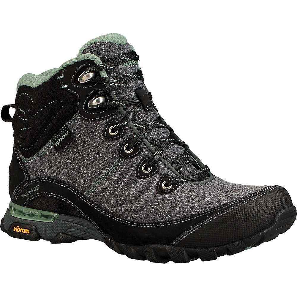 テバ Teva レディース ハイキング・登山 シューズ・靴【Ahnu by Sugarpine II Waterproof Boot】Black / Green Bay