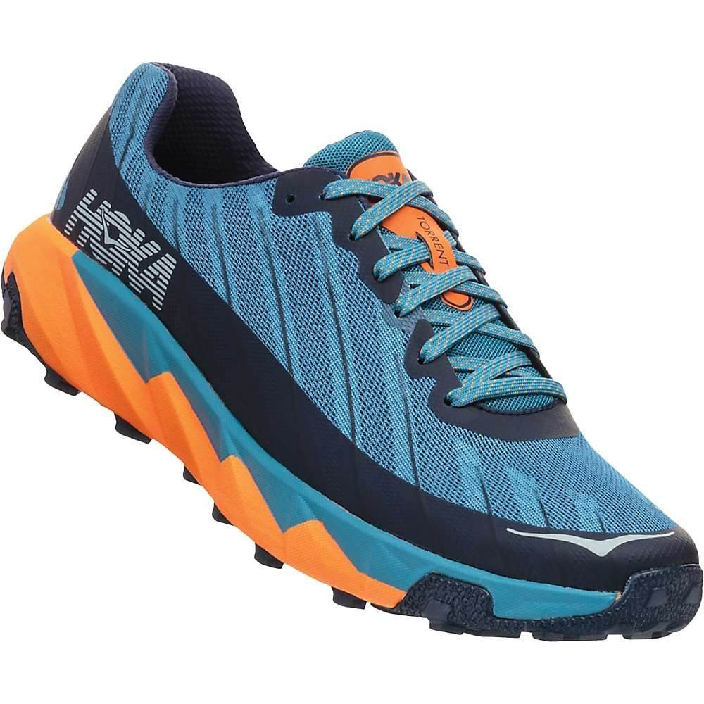 ホカ オネオネ Hoka One One メンズ ランニング・ウォーキング シューズ・靴【Torrent Shoe】Storm Blue / Black Iris