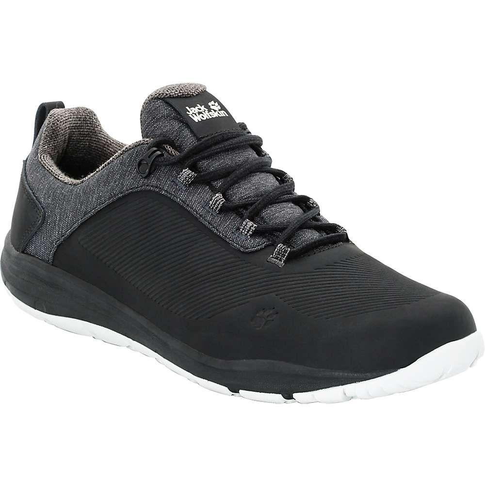 ジャックウルフスキン Jack Wolfskin メンズ ハイキング・登山 シューズ・靴【Seven Wonders WT Low Boot】Black
