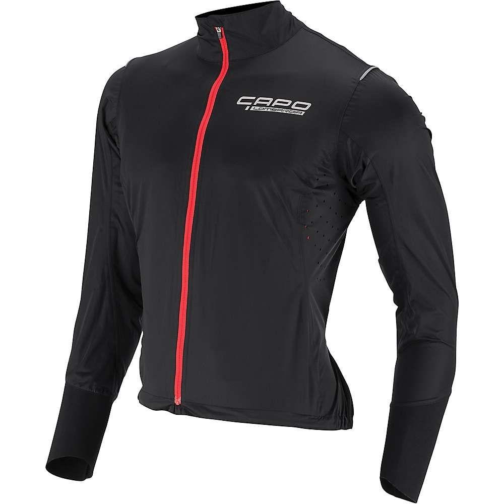 カポ Capo メンズ 自転車 アウター【Lombardia DWR Rain Jacket】Black