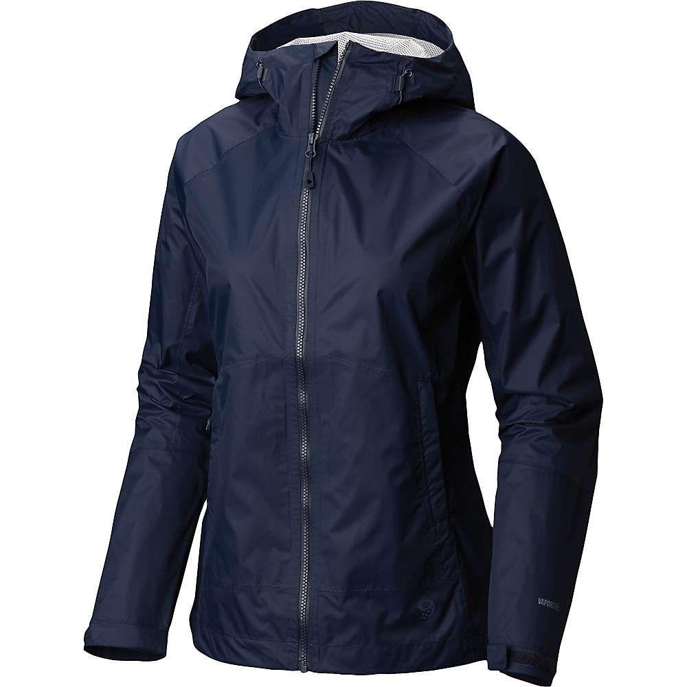 マウンテンハードウェア Mountain Hardwear レディース アウター レインコート【Exponent Jacket】Dark Zinc