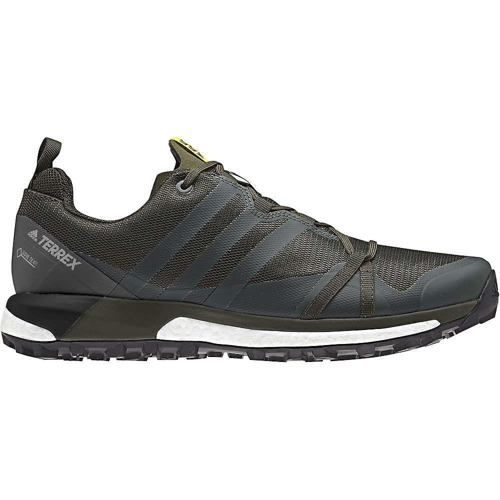 アディダス Adidas メンズ ランニング・ウォーキング シューズ・靴【Terrex Agravic GTX Shoe】Base Green / Base Green / Shock Yellow