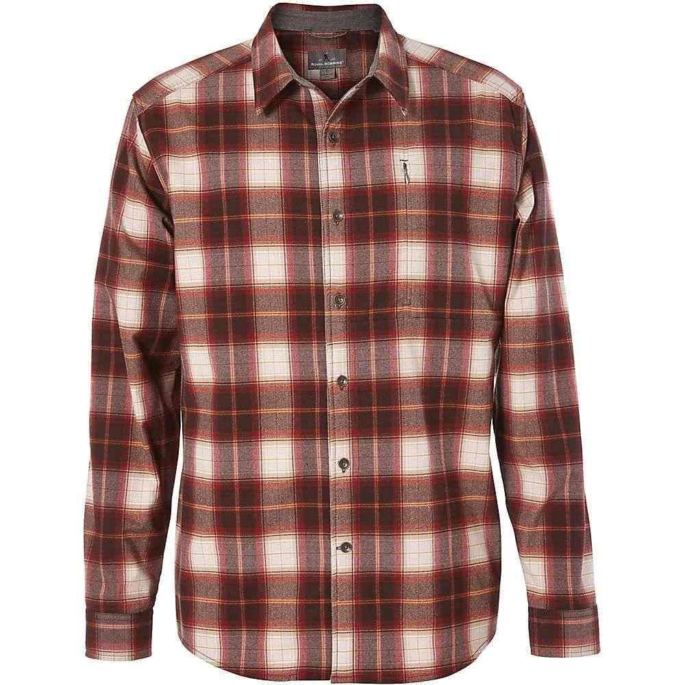 ロイヤルロビンズ Royal Robbins メンズ ハイキング・登山 トップス【Merinolux Flannel LS Shirt】Red Rock