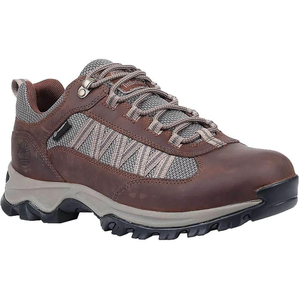 ティンバーランド Timberland メンズ ハイキング・登山 シューズ・靴【MT. Maddsen Lite Low Waterproof Shoe】Dark Brown