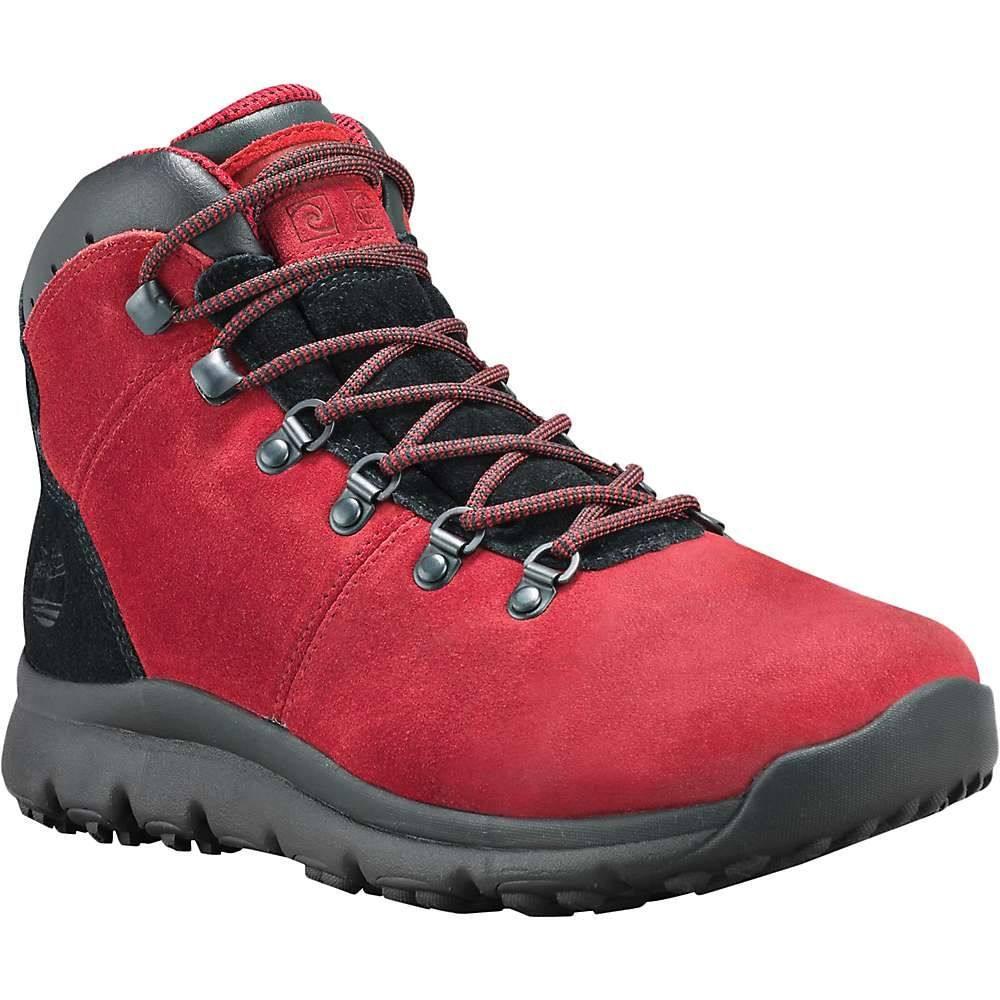ティンバーランド Timberland メンズ ハイキング・登山 シューズ・靴【World Hiker Mid Boot】Medium Red