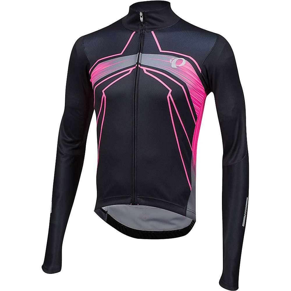 パールイズミ Pearl Izumi メンズ 自転車 トップス【ELITE Pursuit Thermal Graphic Jersey】Vaporize / Screaming Pink