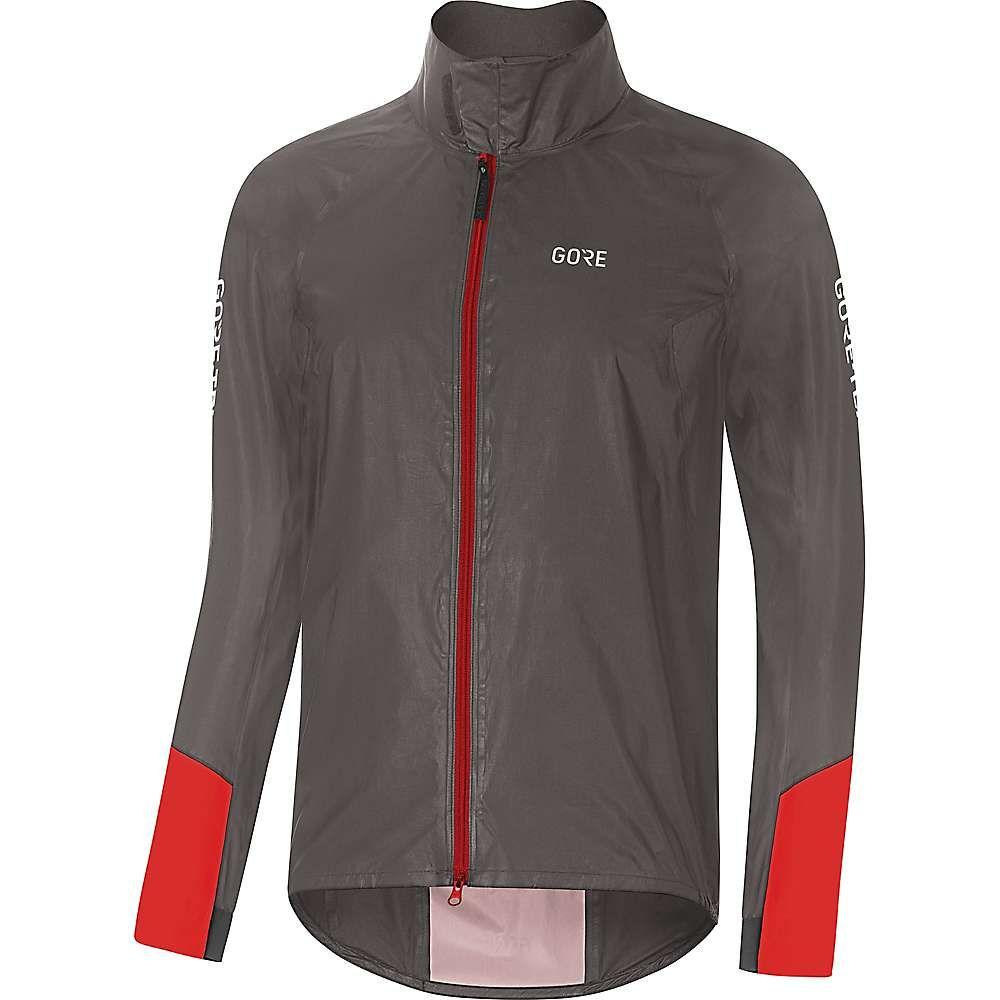 ゴアウェア Gore Wear メンズ 自転車 アウター【Gore C5 GTX Shakedry 1985 Vis Jacket】Lava Grey / Red