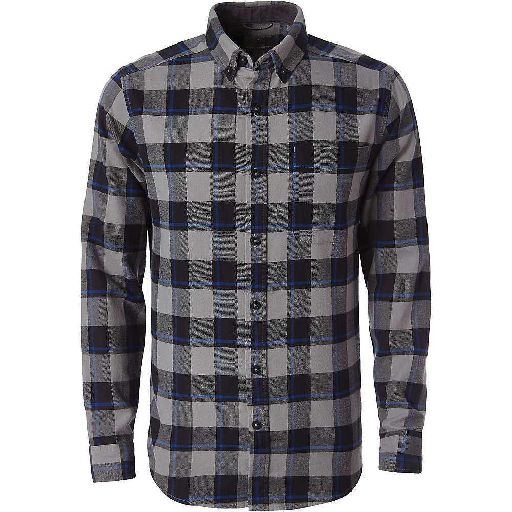 ロイヤルロビンズ Royal Robbins メンズ ハイキング・登山 トップス【Lieback Flannel LS Shirt】Pewter