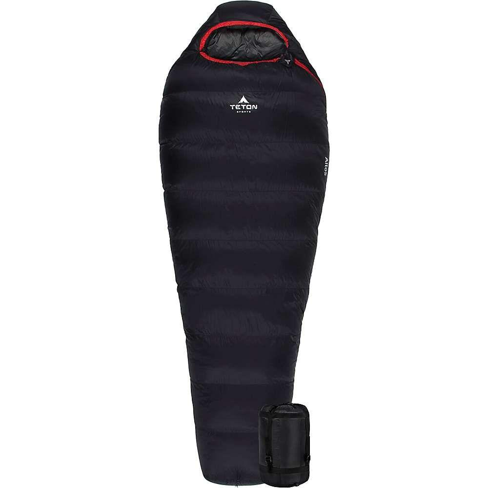 ティトンスポーツ Teton Sports ユニセックス ハイキング・登山【Altos 0F Ultralight Down Mummy Bag】Black