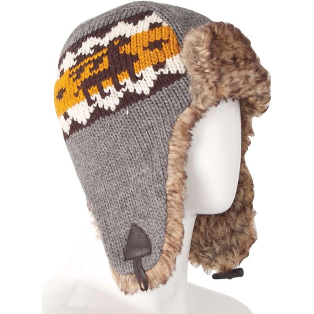 ランドロマット Laundromat レディース 帽子【Drifter Fleece Lined Earflap Hat】Grey