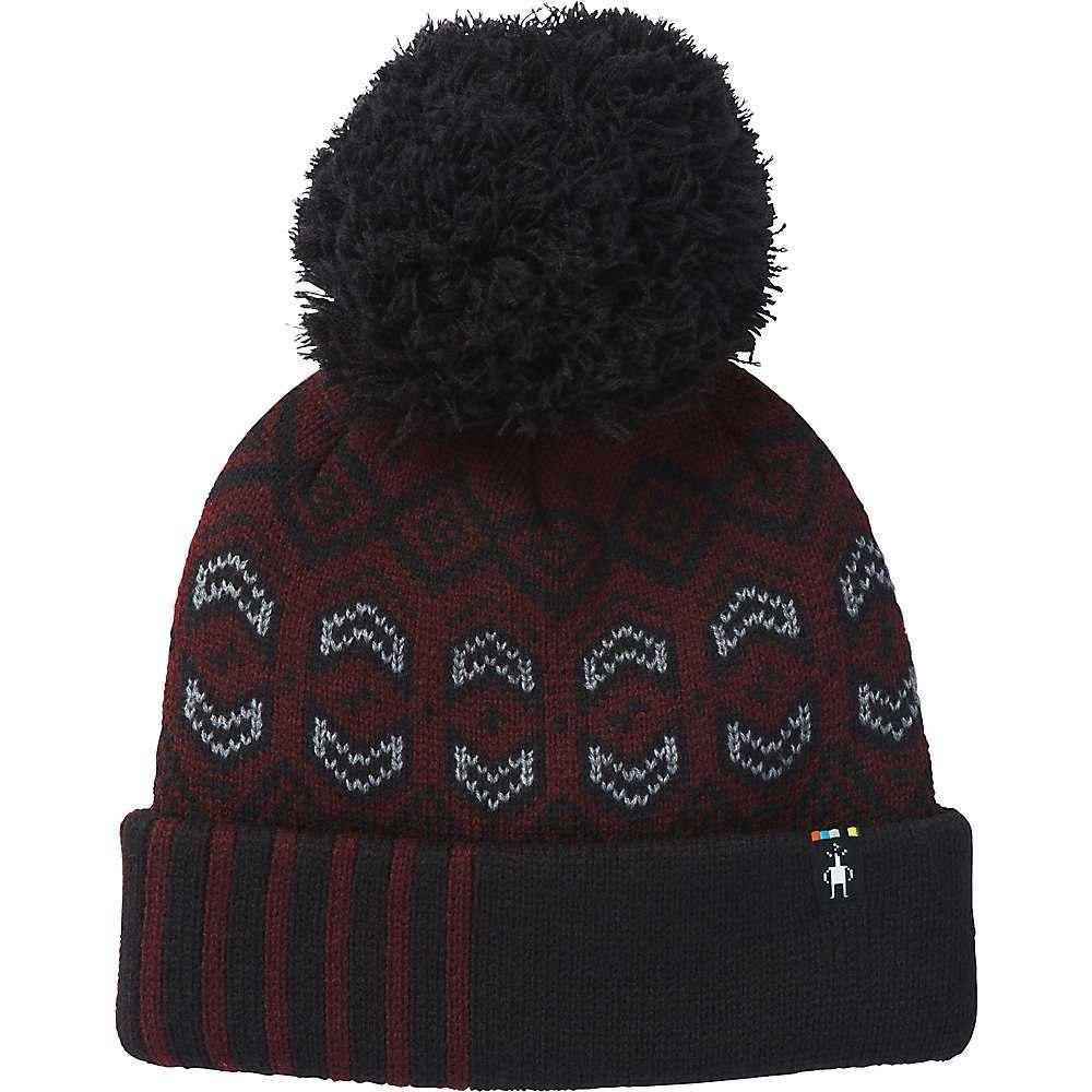 スマートウール Smartwool レディース 帽子【Crystal Ridge Pattern Hat】Fig Heather