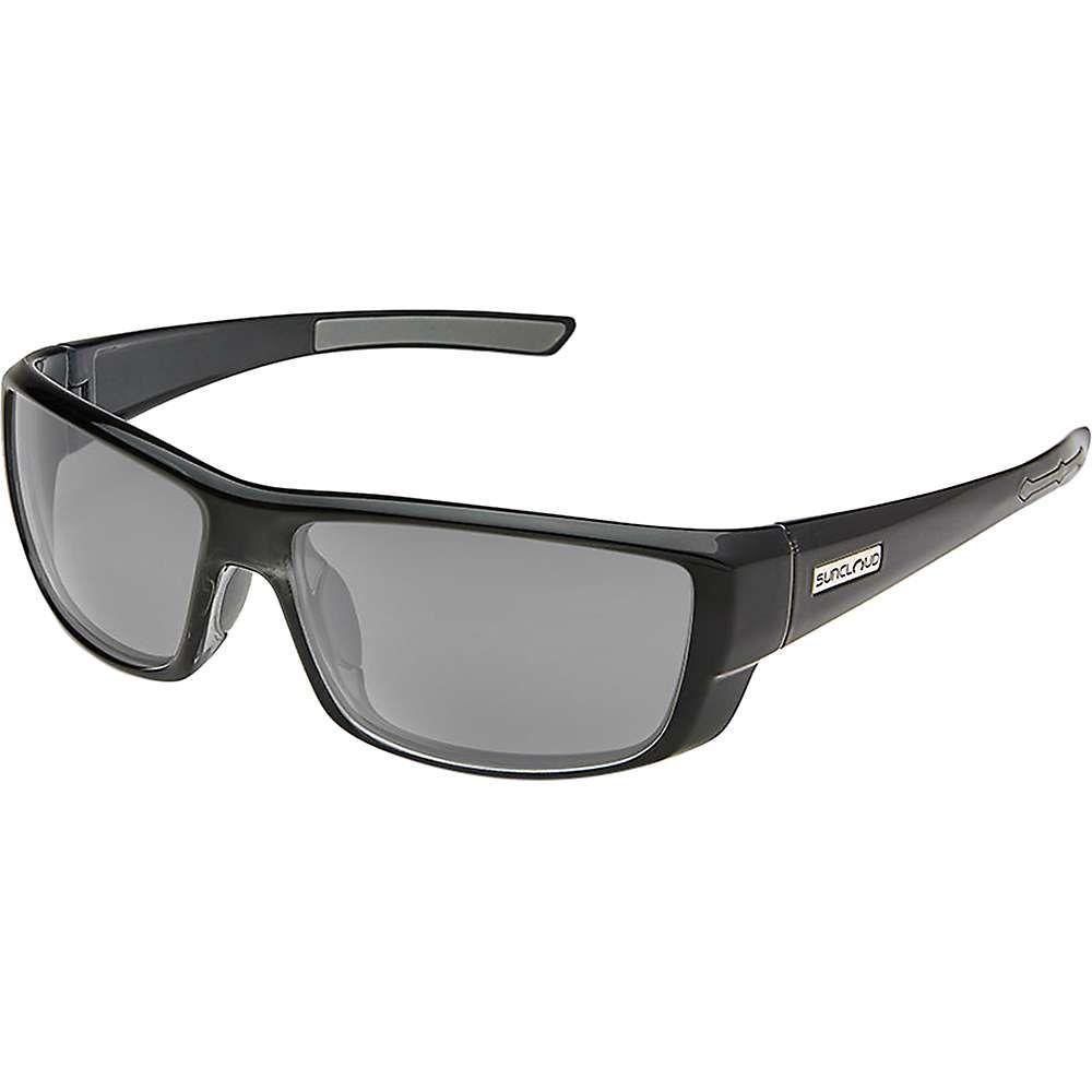 サンクラウド Suncloud ユニセックス スポーツサングラス【Lock Polarized Sunglasses】Black / Gray Polarized
