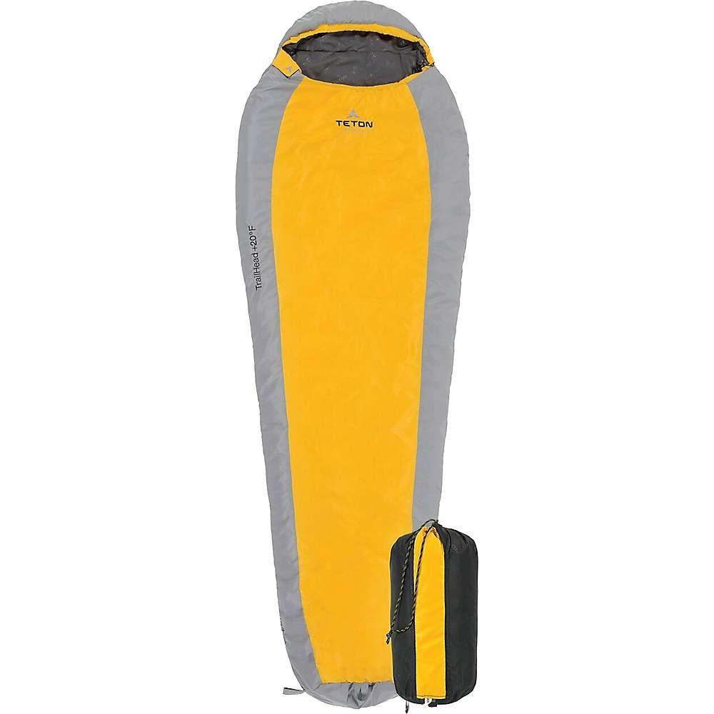 ティトンスポーツ Teton Sports ユニセックス ハイキング・登山【Trailhead +20F Ultralight Mummy Bag】Orange