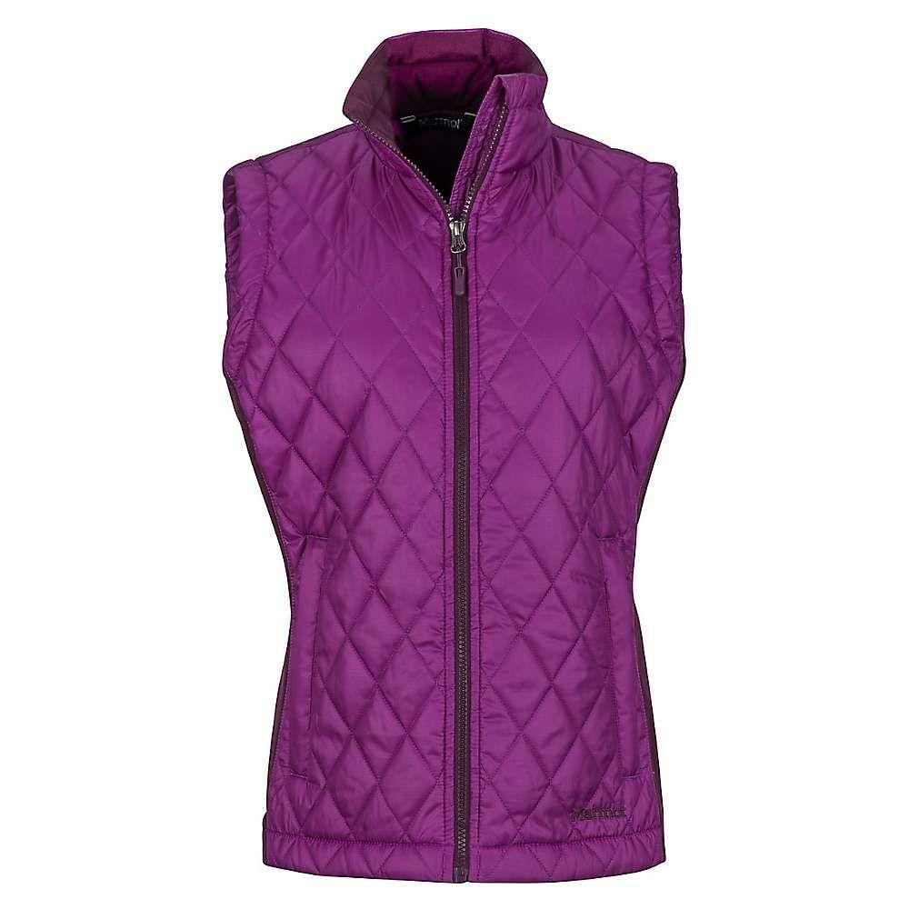 マーモット Marmot レディース トップス ベスト・ジレ【Kitzbuhel Vest】Grape / Dark Purple