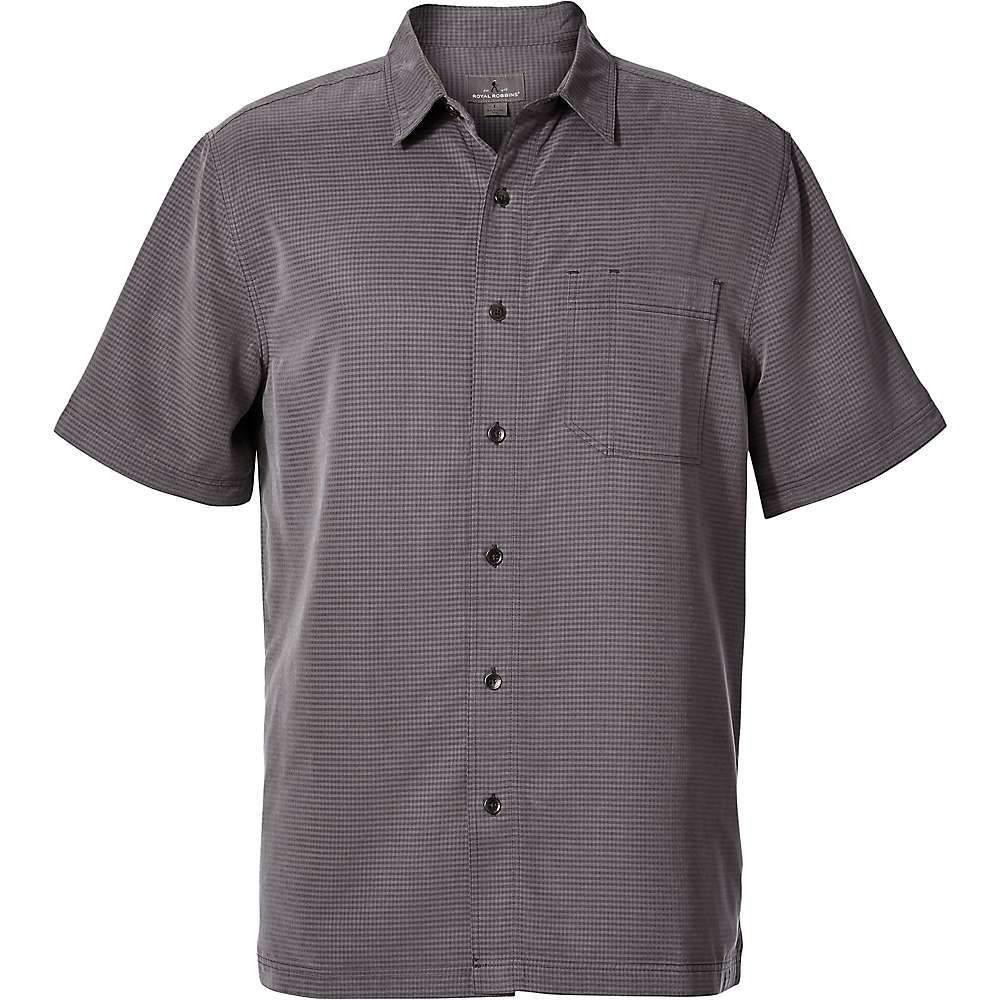 ロイヤルロビンズ Royal Robbins メンズ トップス 半袖シャツ【Desert Pucker Dry SS Shirt】Asphalt