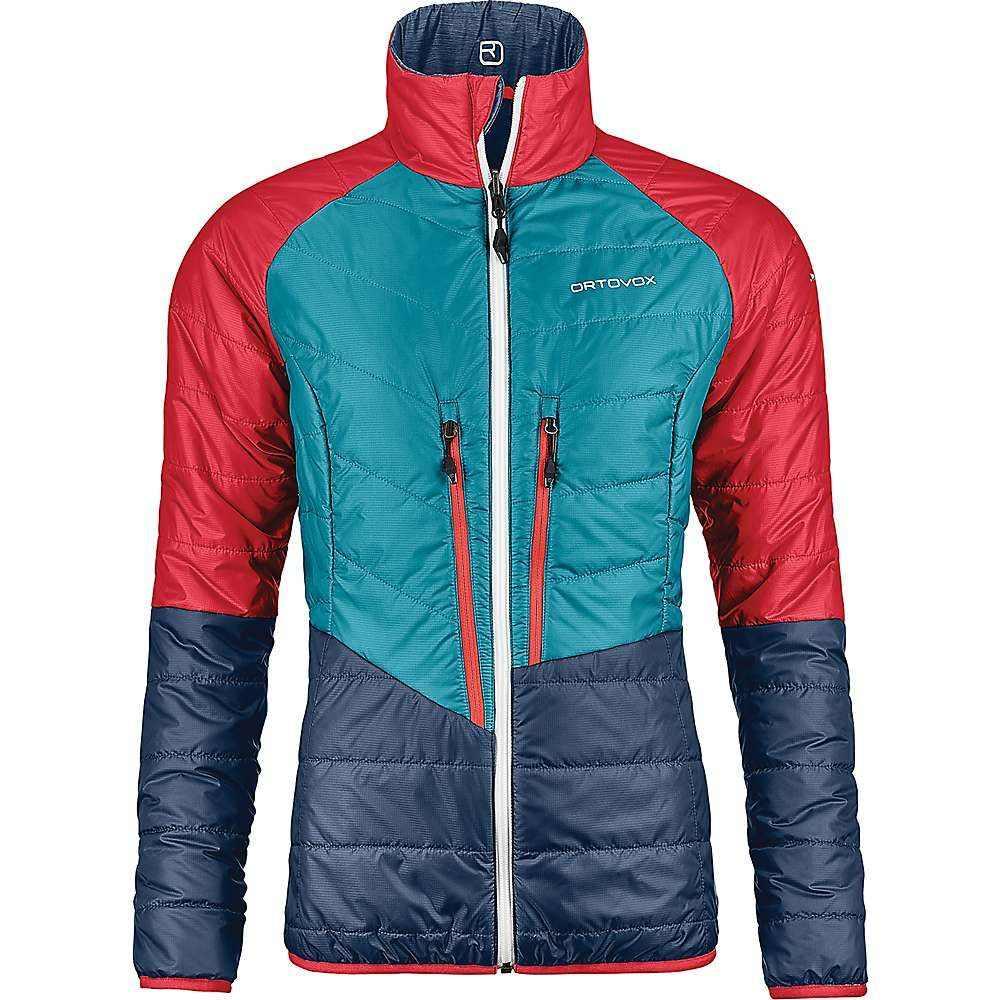 オルトボックス Ortovox レディース スキー・スノーボード アウター【Swisswool Piz Bial Jacket】Night Blue Blend